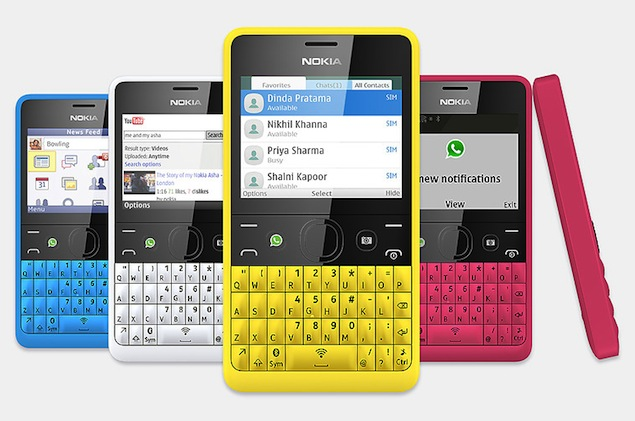 WhatsApp Nokia Asha 1