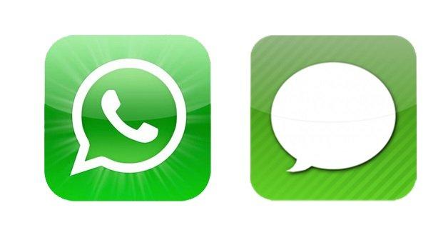 WhatsApp vs iMessage