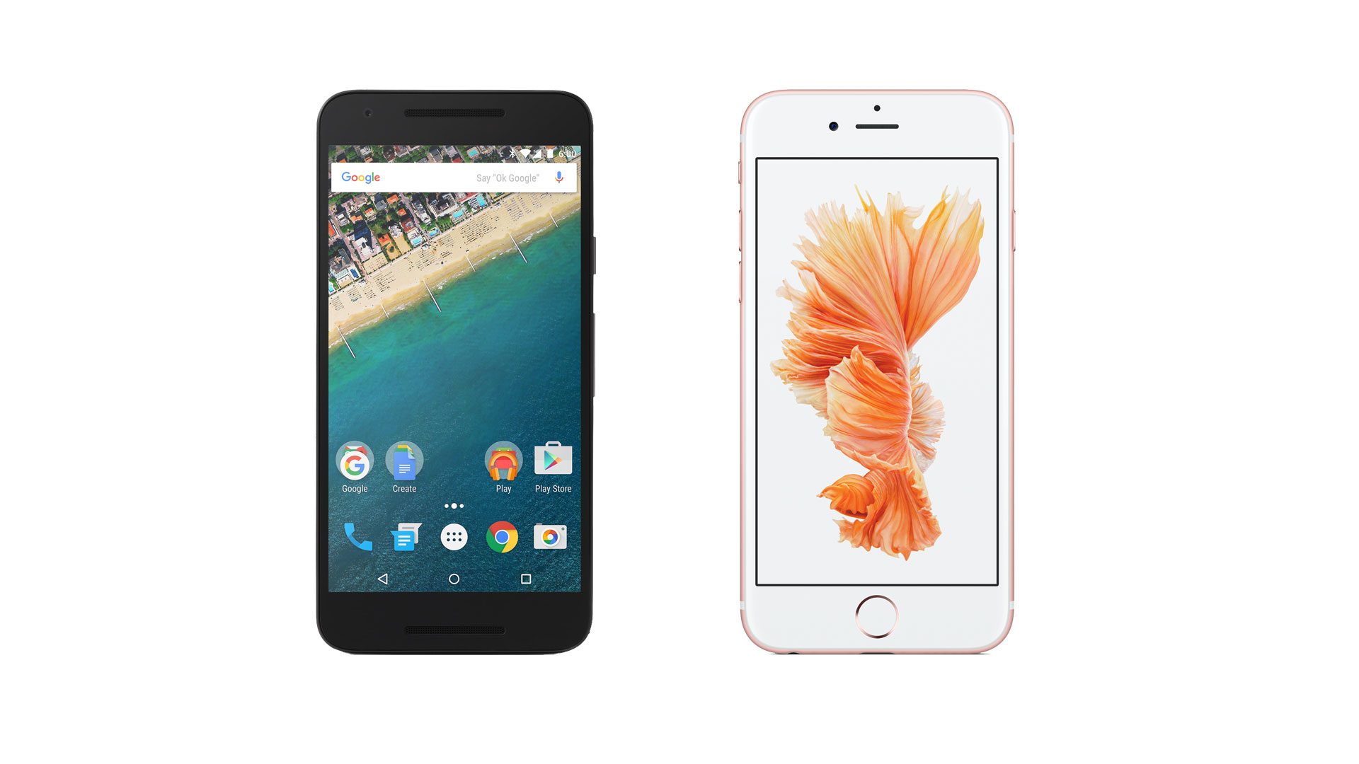 iPhone 6s vs Nexus 5X 1