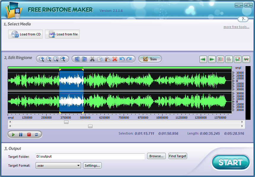 Aplicaciones para descargar tonos ringtone maker