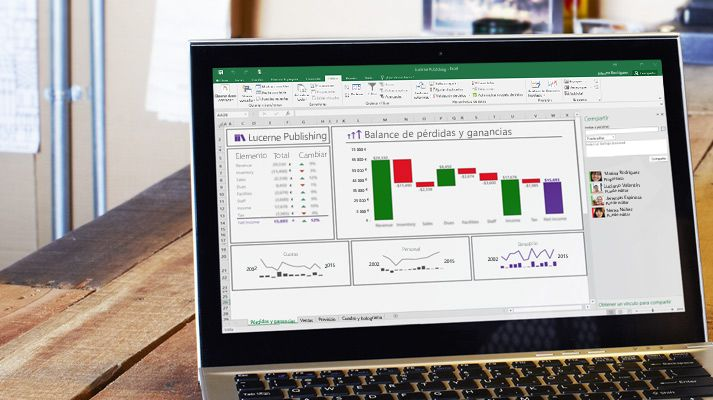 Aprender a usar Excel online