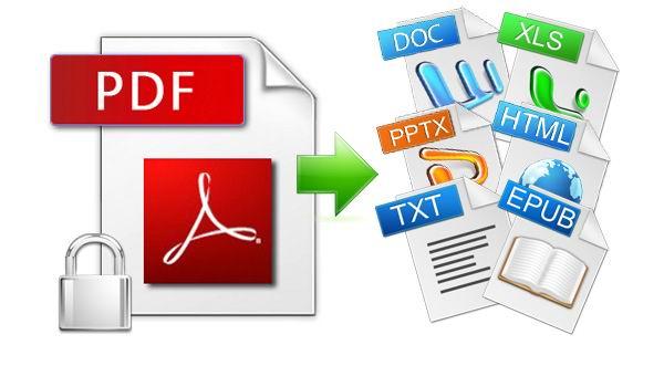 Conversor PDF a otros formatos