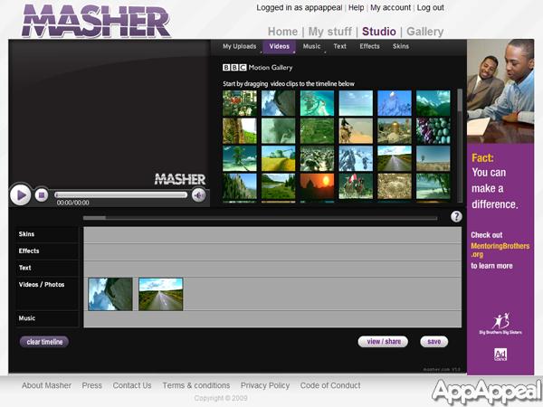 Editores de video online gratuitos 2