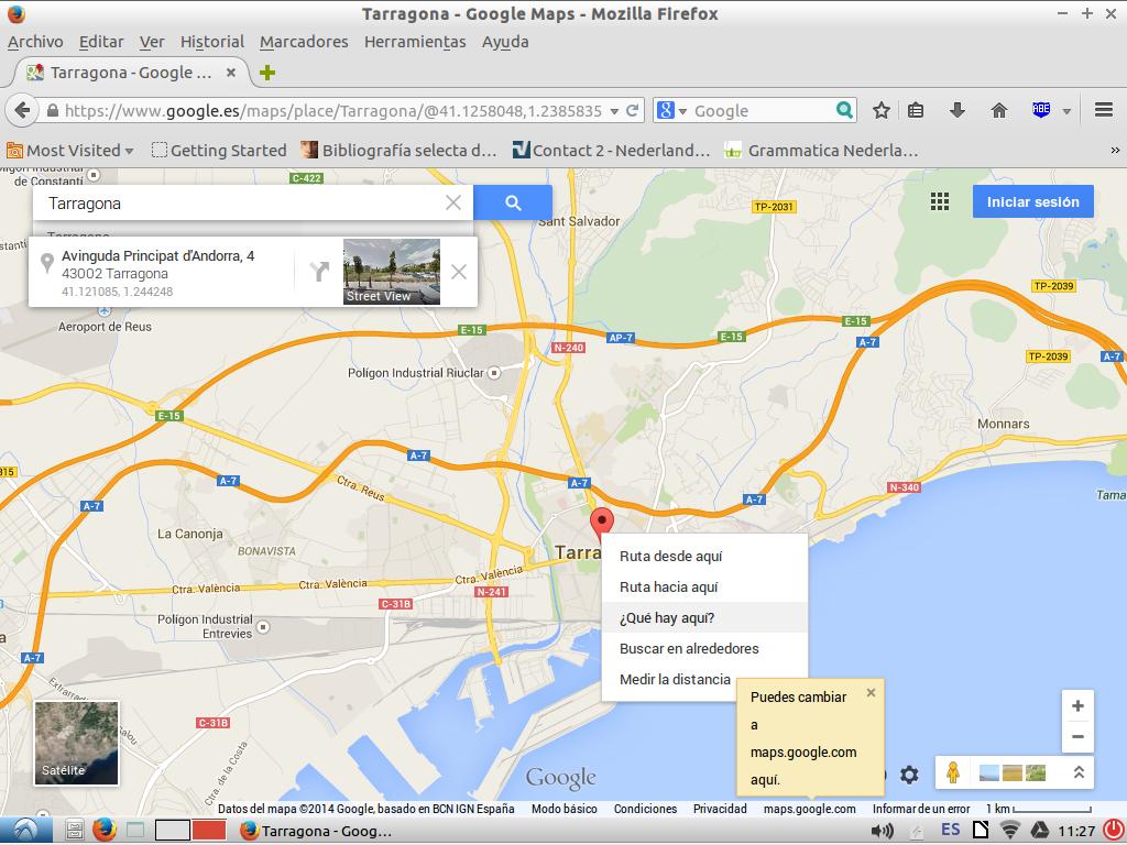Google Maps coordenadas 4