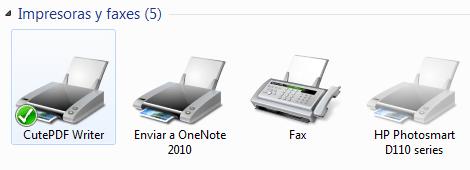 Impresoras virtuales PDF