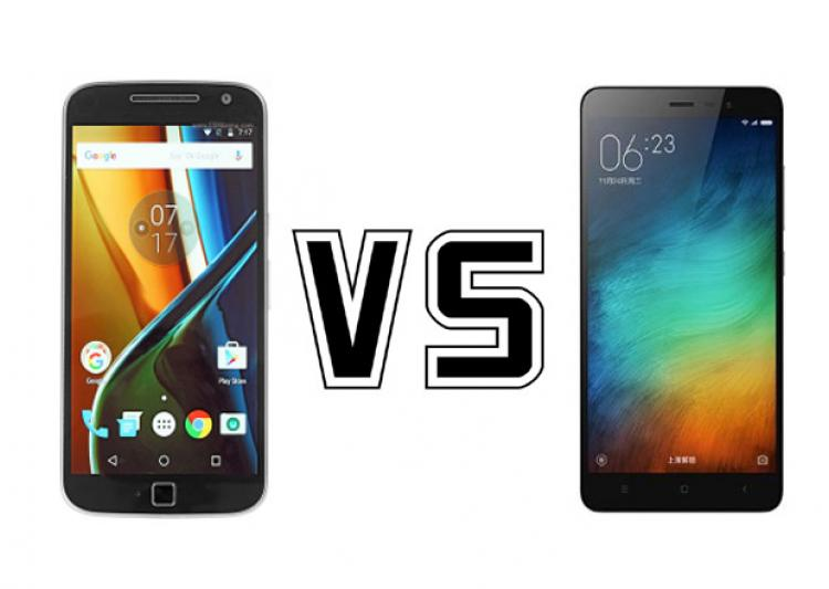 Xiaomi Redmi Note 3 vs Moto G4 Plus 1