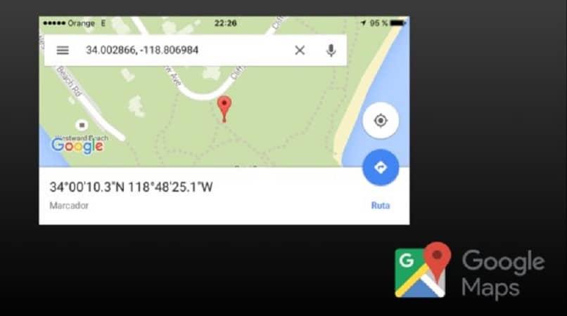 cual es mi longitud en google maps