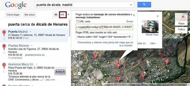 cual es mi latitud en google maps