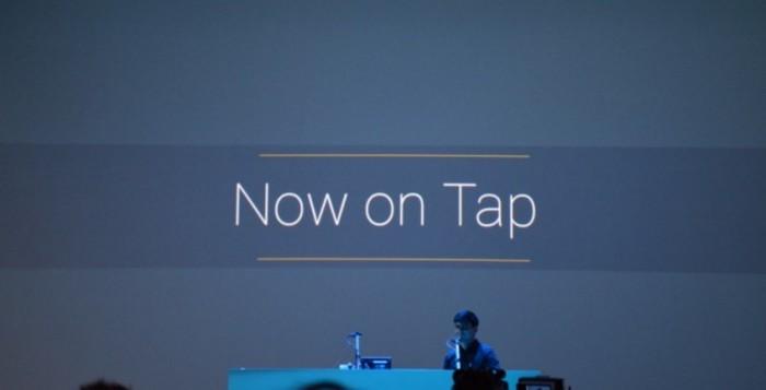 Activar desactivar Google Now on Tap