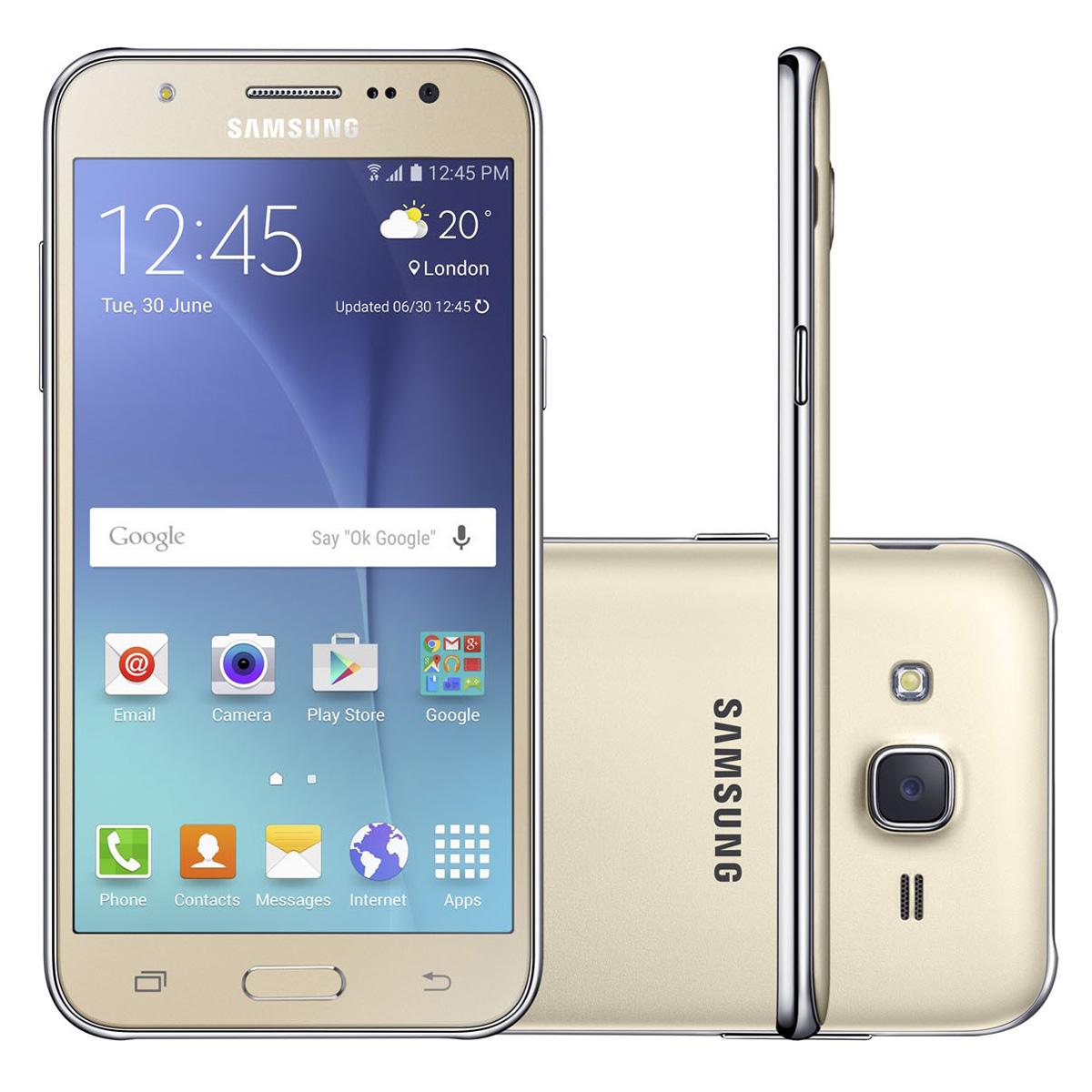 Activar linterna en Samsung J1, J2, J3, J5 y J7