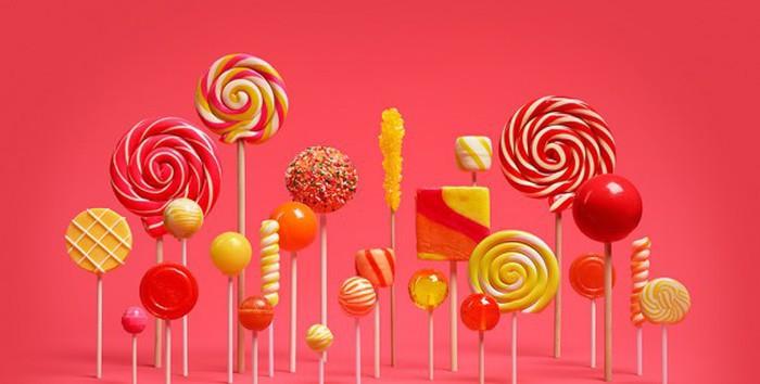 Android Lollipop Galería