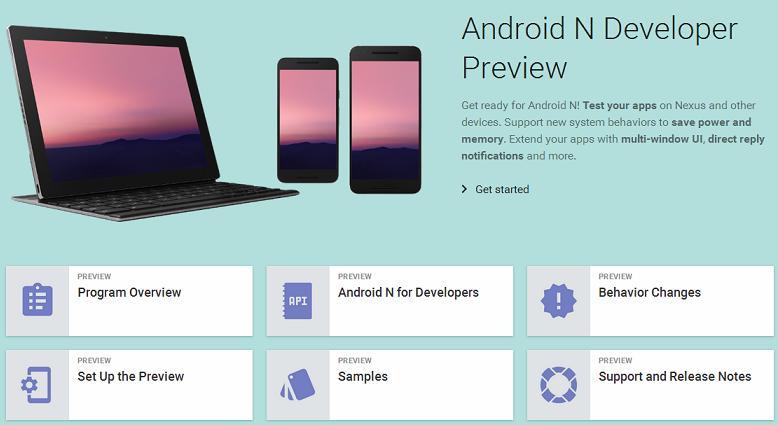 Android N novedades