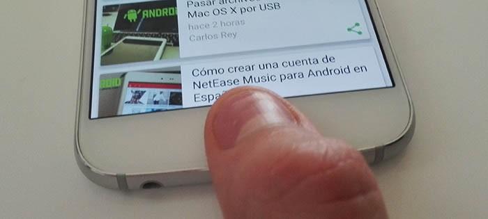 Bloquear WhatsApp huellas digitales Android