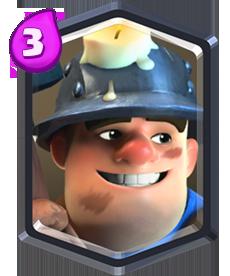 Clash Royale cómo parar Minero