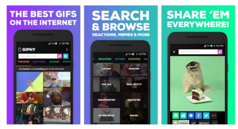 Descargar Giphy Android 2