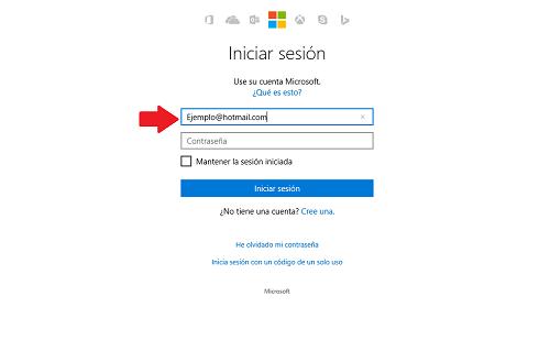 Entrar Hotmail 1