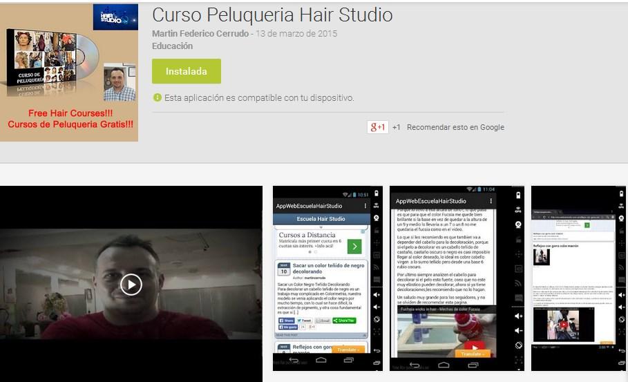 Mejores aplicaciones barberos Android