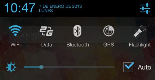 Ocultar la barra de notificaciones en Android