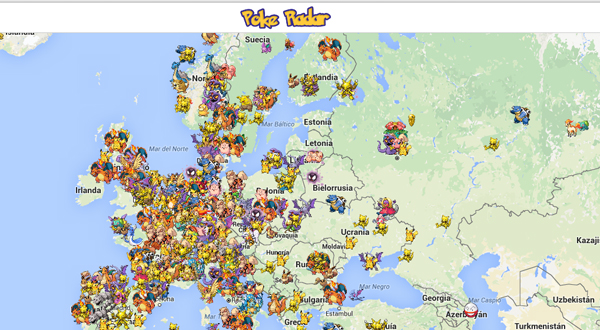 Radar para Pokémon Go