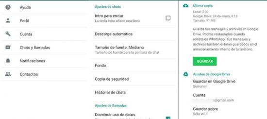 Recuperar mensajes eliminados WhatsApp