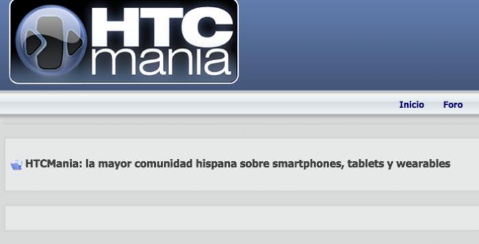 Registrarse HTCManía