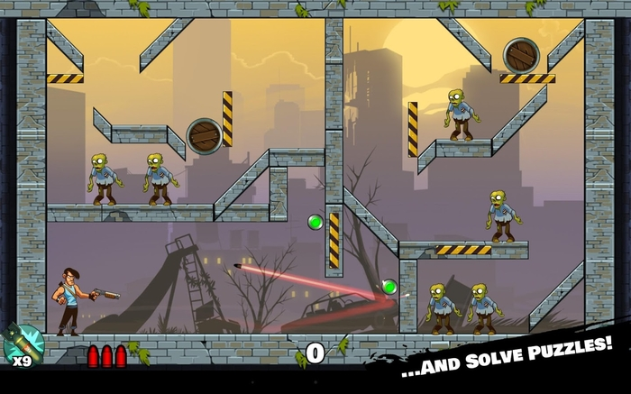 Stupid Zombies 2 para BlackBerry