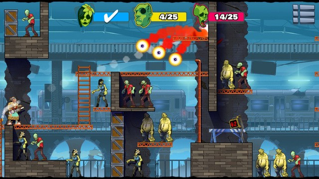 Stupid Zombies 2 para BlackBerry