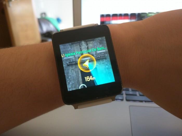 Ver las Poképaradas en el smartwatch