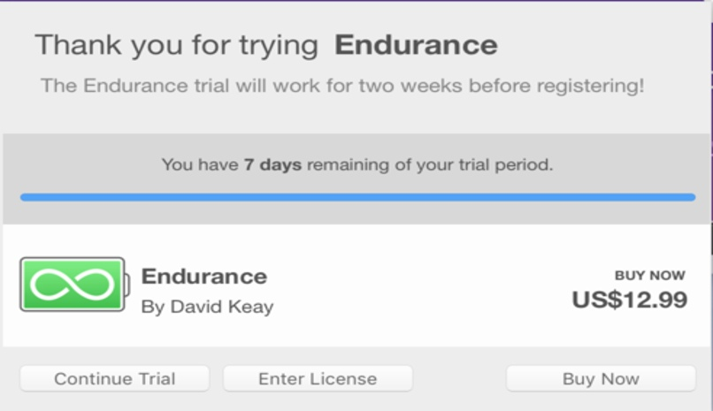 app endurance mac