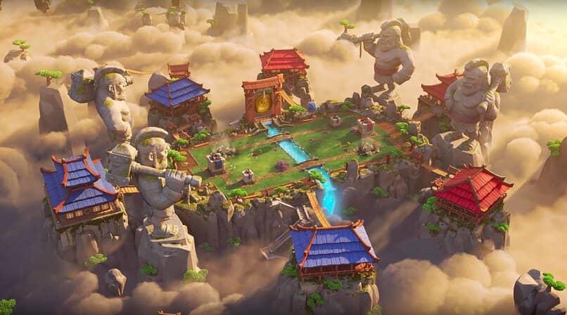 arena de batalla de clash royale