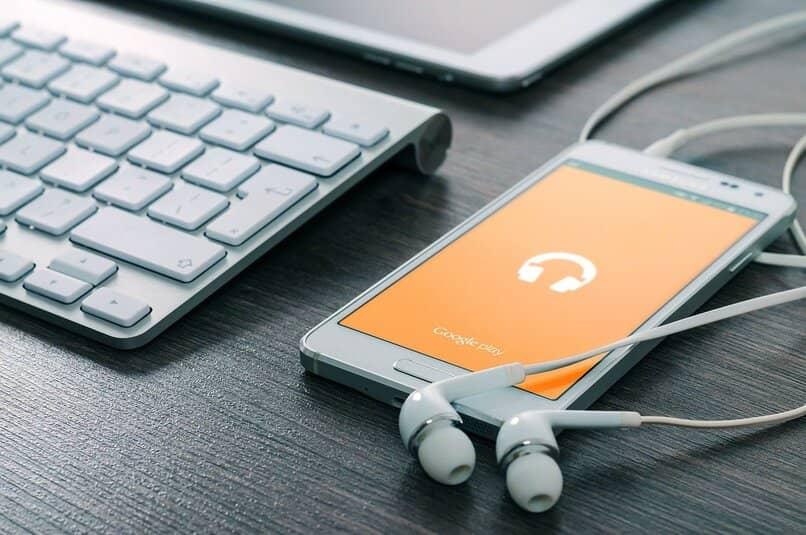 consumo de datos escuchando musica