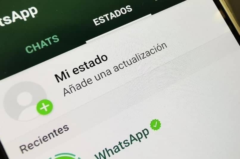 vista de estado de whatsapp