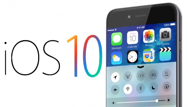 iOS 10 aplicaciones