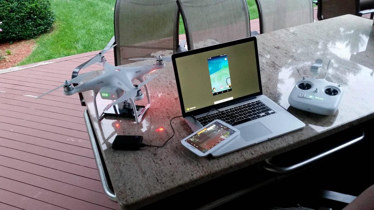 pokémon go dron