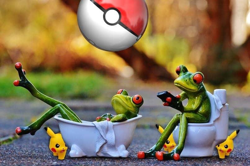 ranas utilizando dispositivos moviles