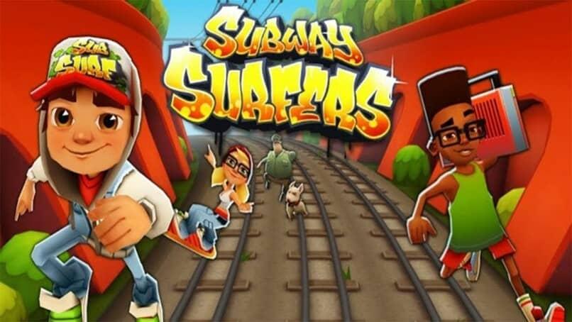 portada de juego subway surfers