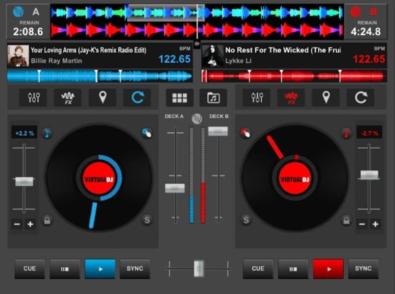 virtual dj para android