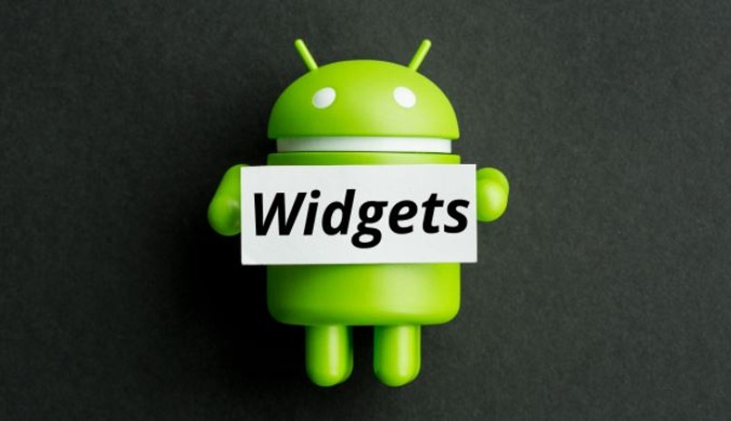 colocar widget movil android