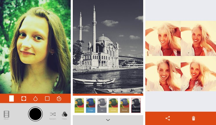 Aplicaciones retocar fotos