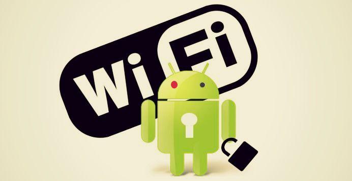 Aplicaciones robar WiFi Android