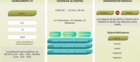 Calculadora IV para Pokémon Go