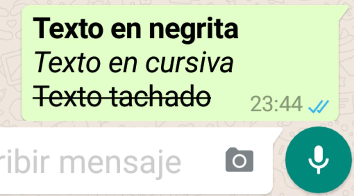 Cómo escribir en negrita en WhatsApp