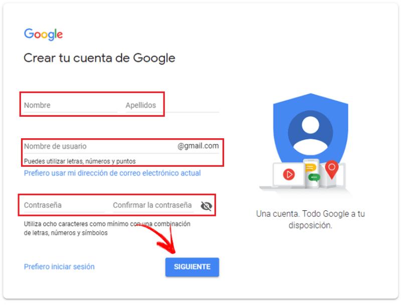 formulario de google