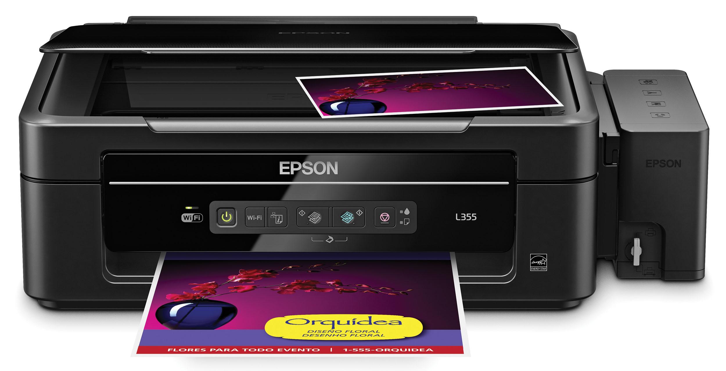 Instalar Epson L355
