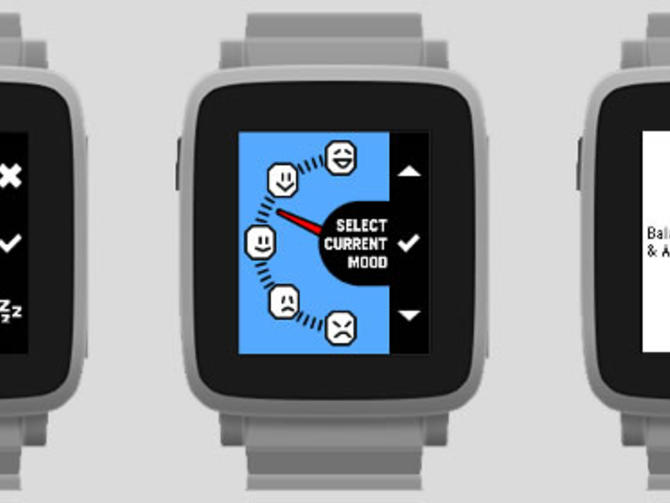 Pebble Happiness