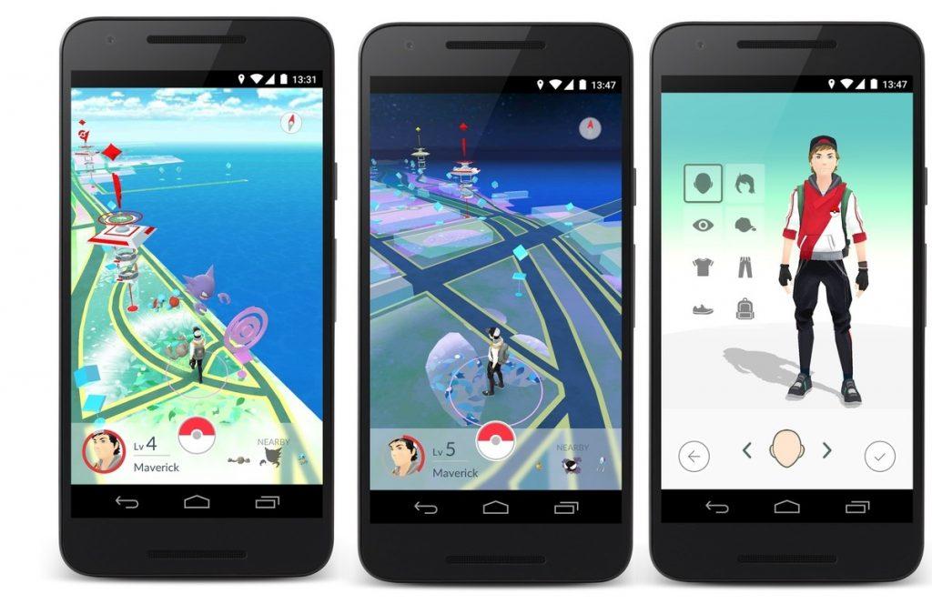 Personalizar Avatar en Pokémon Go