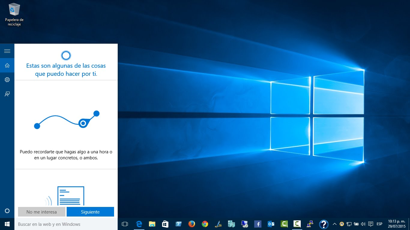Trucos Cortana Windows 10
