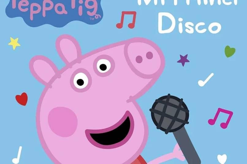 peppa pig cantando
