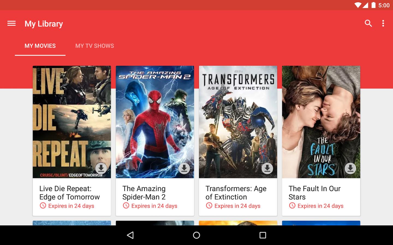 google play cine