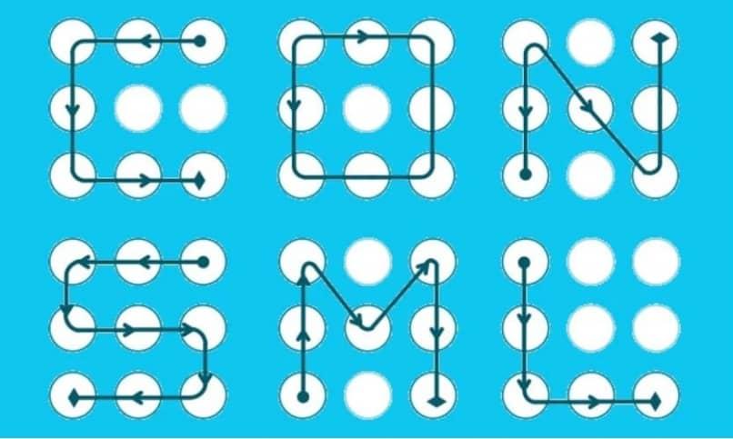 patrones comunes desbloqueo movil